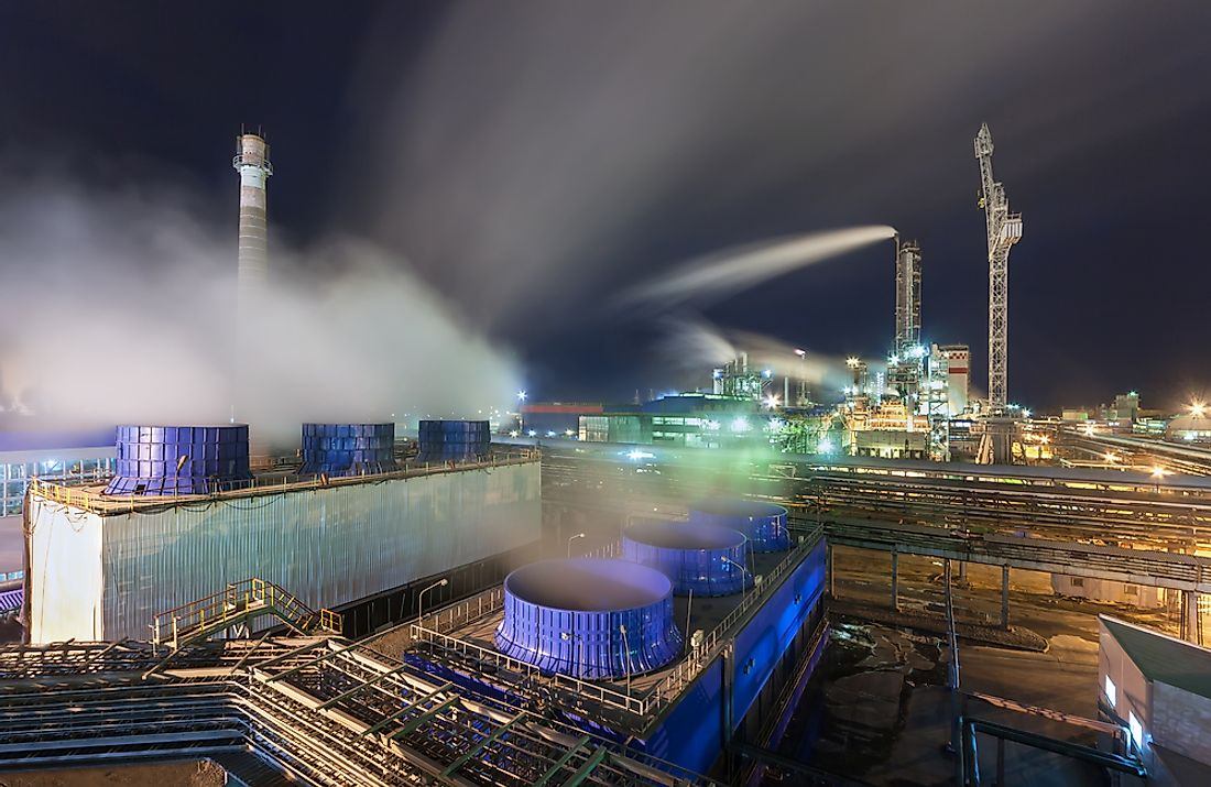 The Haber-Bosch process is majorly used in the production of the ammonia used in fertilizer.