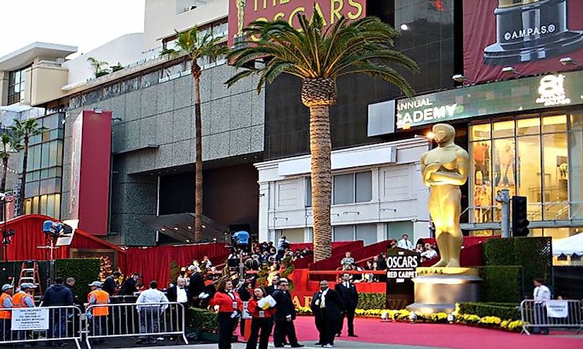 Academy Awards ceremony, one of the most prestigious events in the world of cinema.