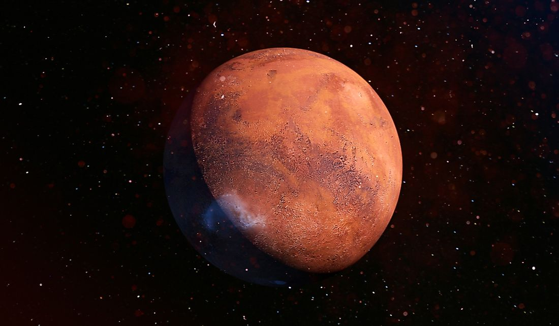 The length of a day on Mars is similar to that of Earth.