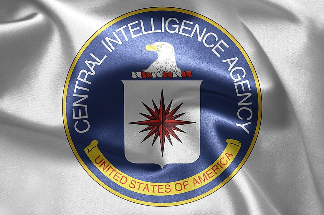 The flag of the CIA.