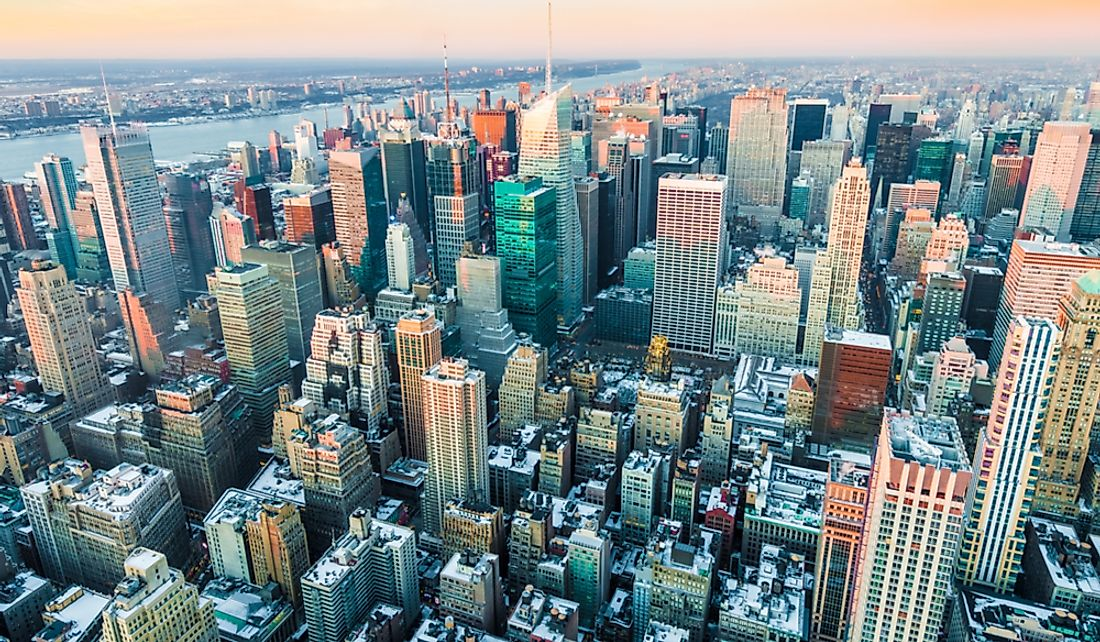 Manhattan is the most populous of New York City's five boroughs.