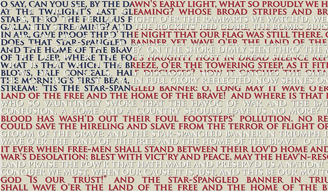 The national anthem of the United States is known as The Star-Spangled Banner.