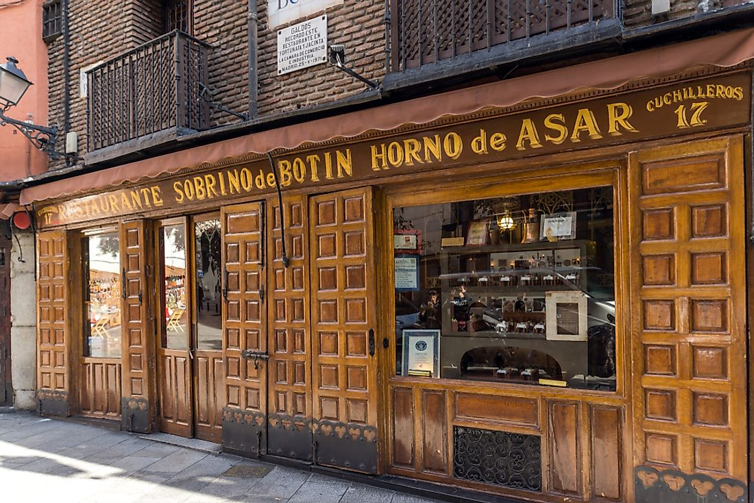 Which Is The Oldest Operating Restaurant