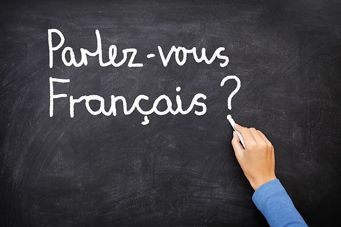 French is one of the official languages of Madagascar.