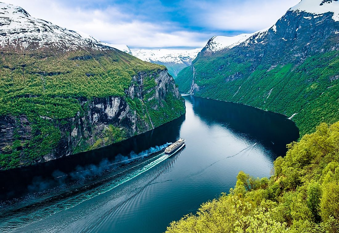 Norway is world-famous for its fjords.