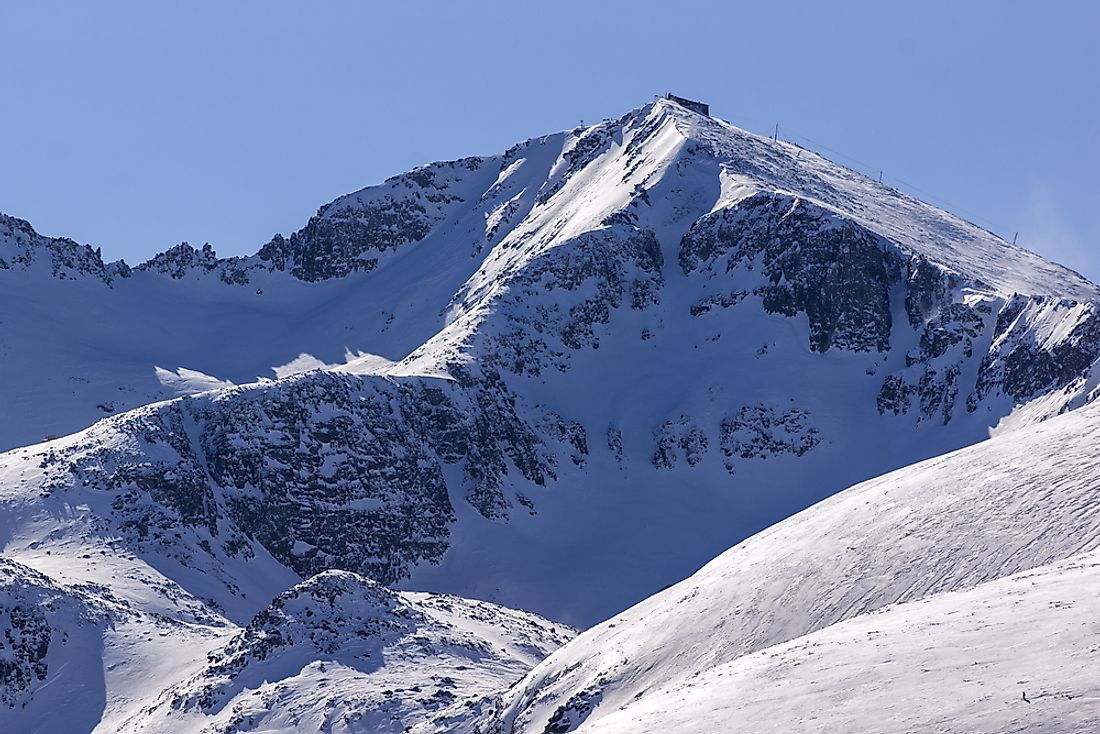 Musala Peak, Bulgaria. Musala is the highest peak in the Balkans.