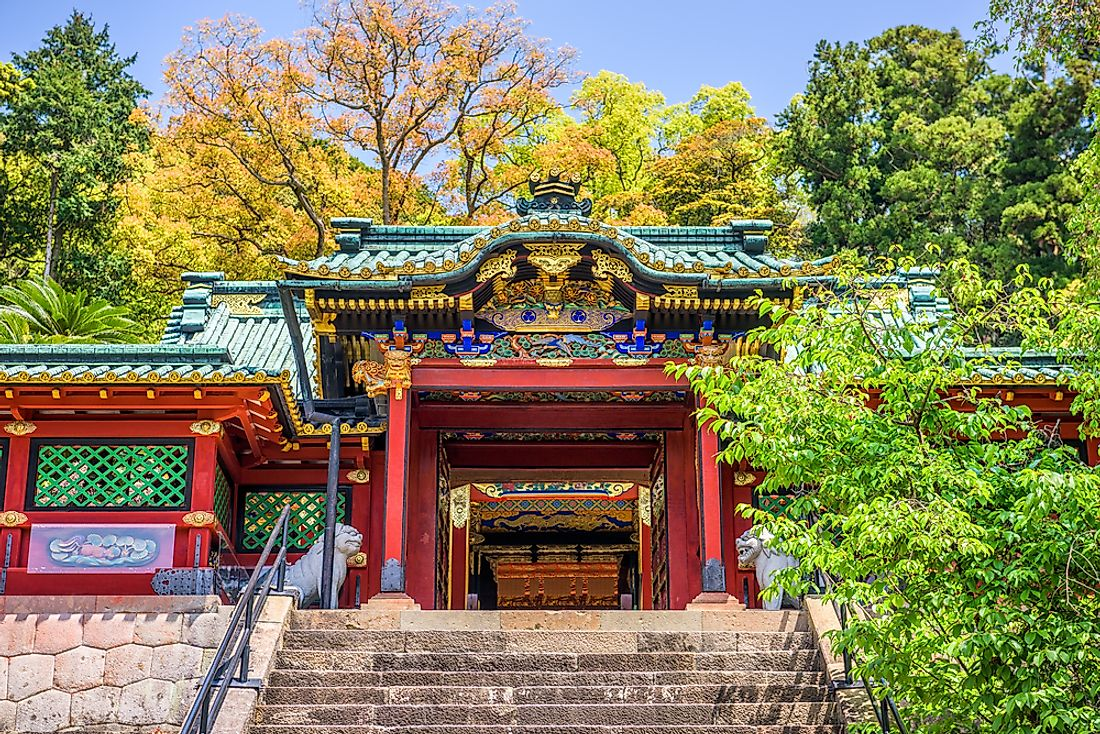 Religious Beliefs In Japan - WorldAtlas com