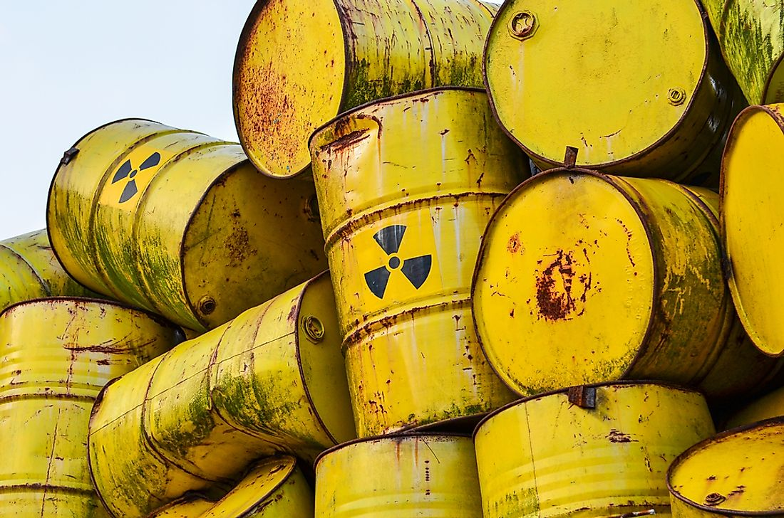 Radioactive waste remains highly toxic for thousands of years.