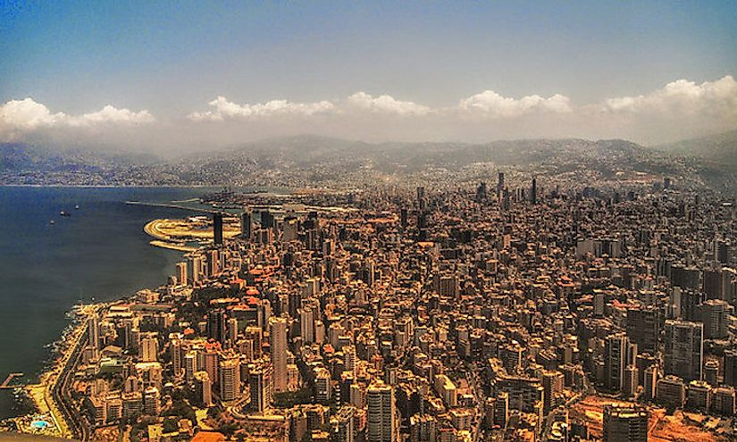 Beirut, the capital city of Lebanon.