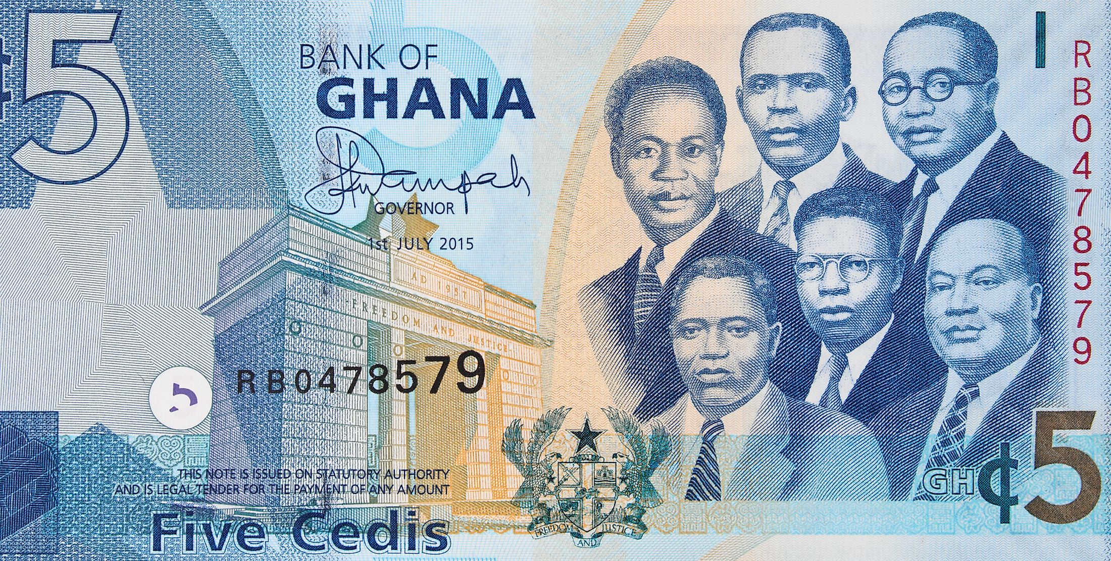 What Is The Currency Of Ghana Worldatlas