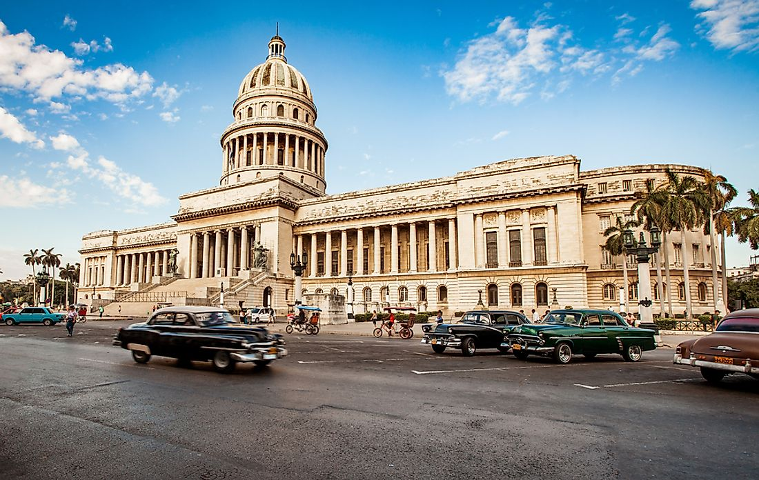 El Capitolio, seat of the National Assembly of People's Power. Editorial credit: Andrey Armyagov / Shutterstock.com.