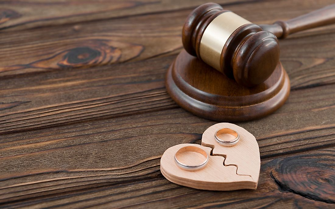 Divorce is a relatively common occurrence in the United States.