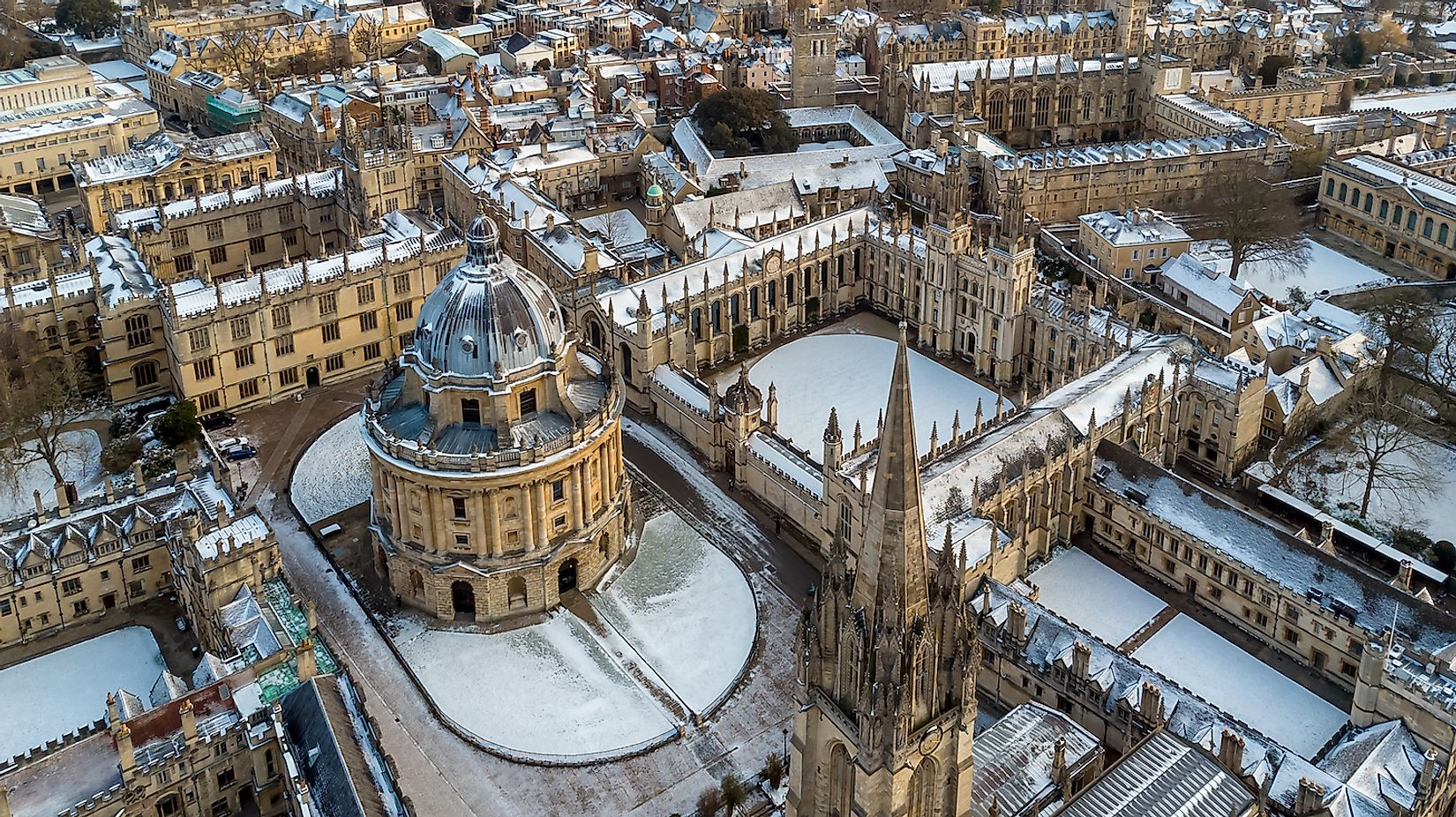 Aerial view of central Oxford, United Kingdom. Image credit: Alexey Fedorenko/Shutterstock.com