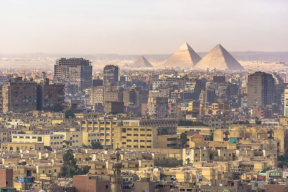 Egypt had a 51% growth in tourism in 2017. Editorial credit: Prin Adulyatham / Shutterstock.com