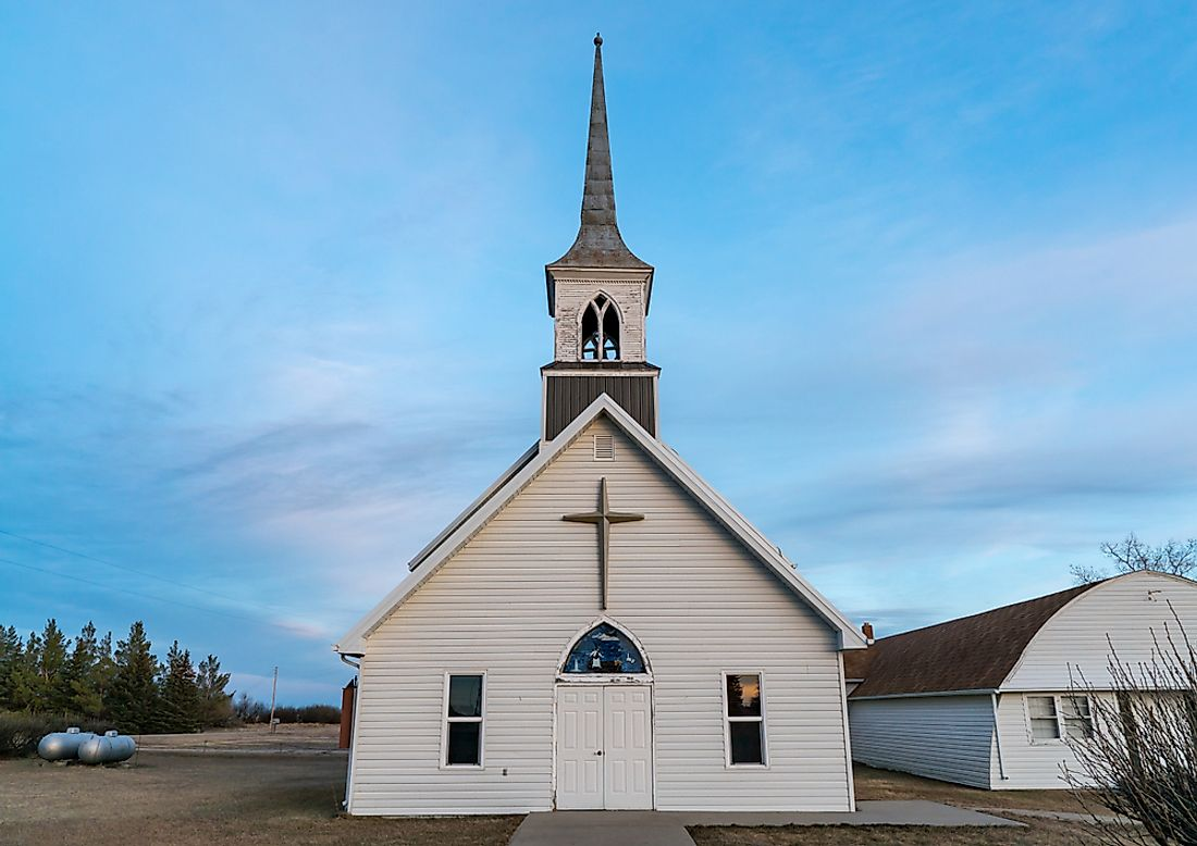 Christianity is widespread thought the state of Montana. Editorial credit: Silent O / Shutterstock.com