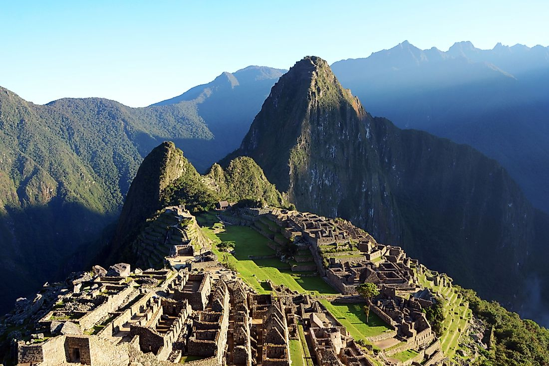 Machu Picchu is an ancient city from the Inca civilization.