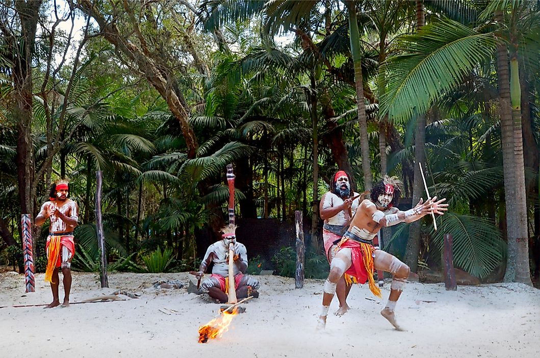 Aboriginal Australians are one of the indigenous peoples of Oceania.
