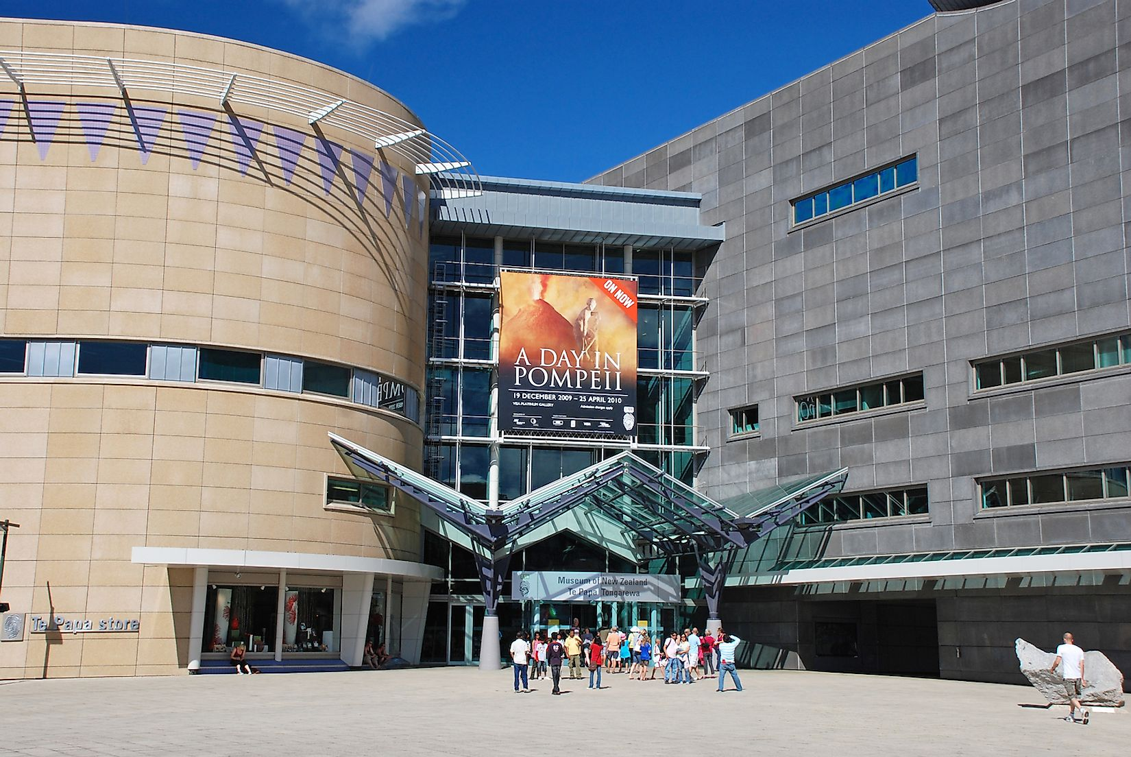Museum of New Zealand Te Papa Tongarew. Image credit: Jiri Foltyn/Shutterstock.com