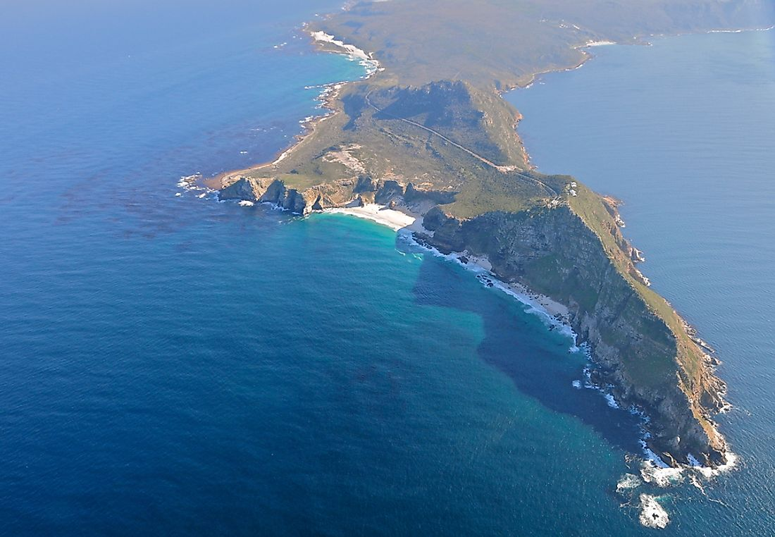 Cape of Good Hope in South Africa.