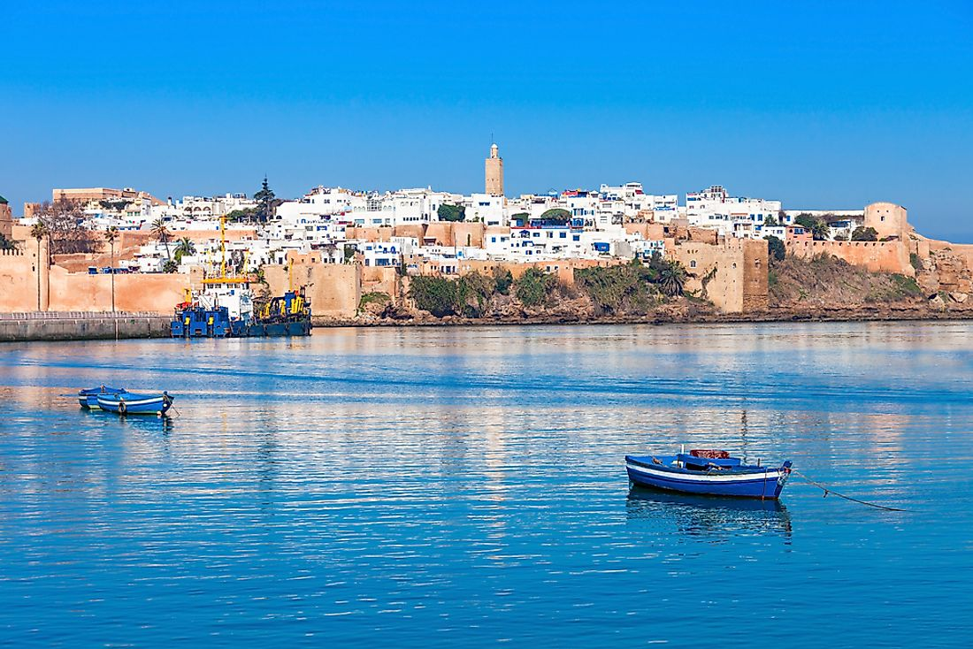 Morocco is among the only three nations in the world to have the coastlines on the Atlantic and the Mediterranean.
