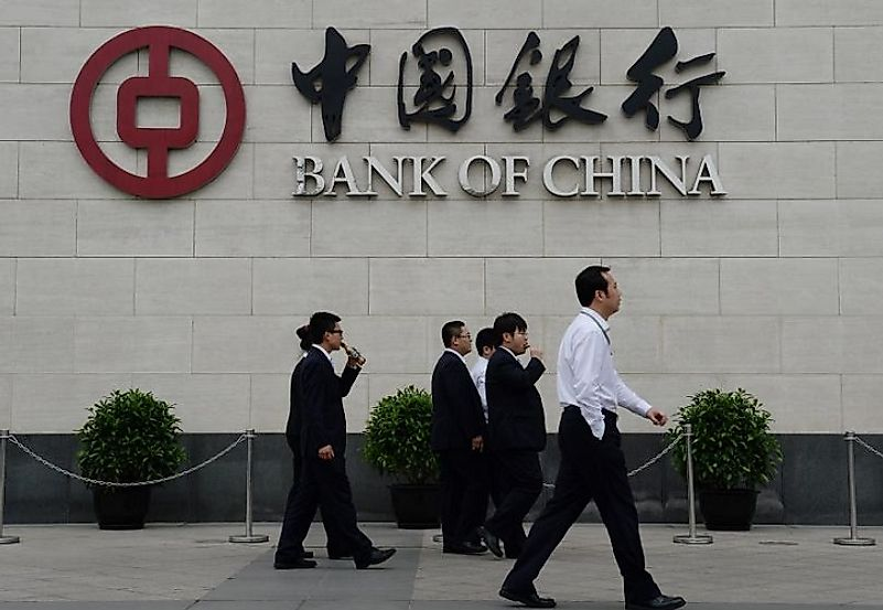 As China has liberalizes its markets to some degree, the state-owned banks have loaned considerable funds to entrepreneurs.