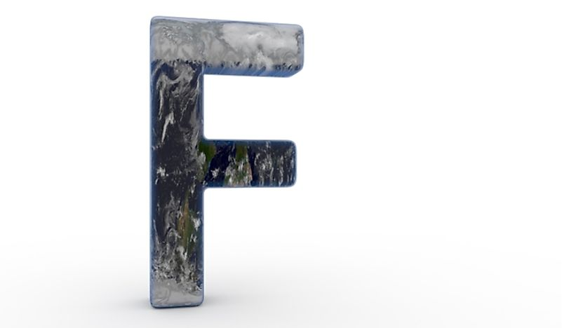 Three countries start with the letter F.