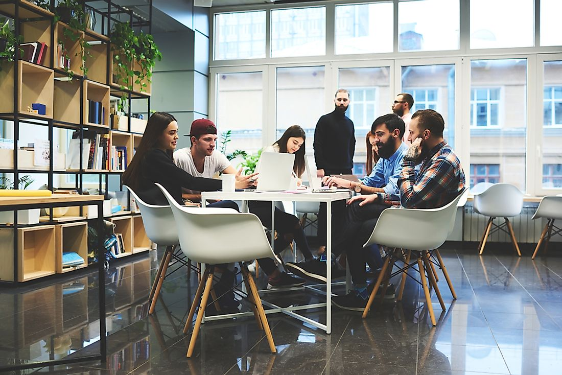 Startups are emerging as a new popular type of workplace.