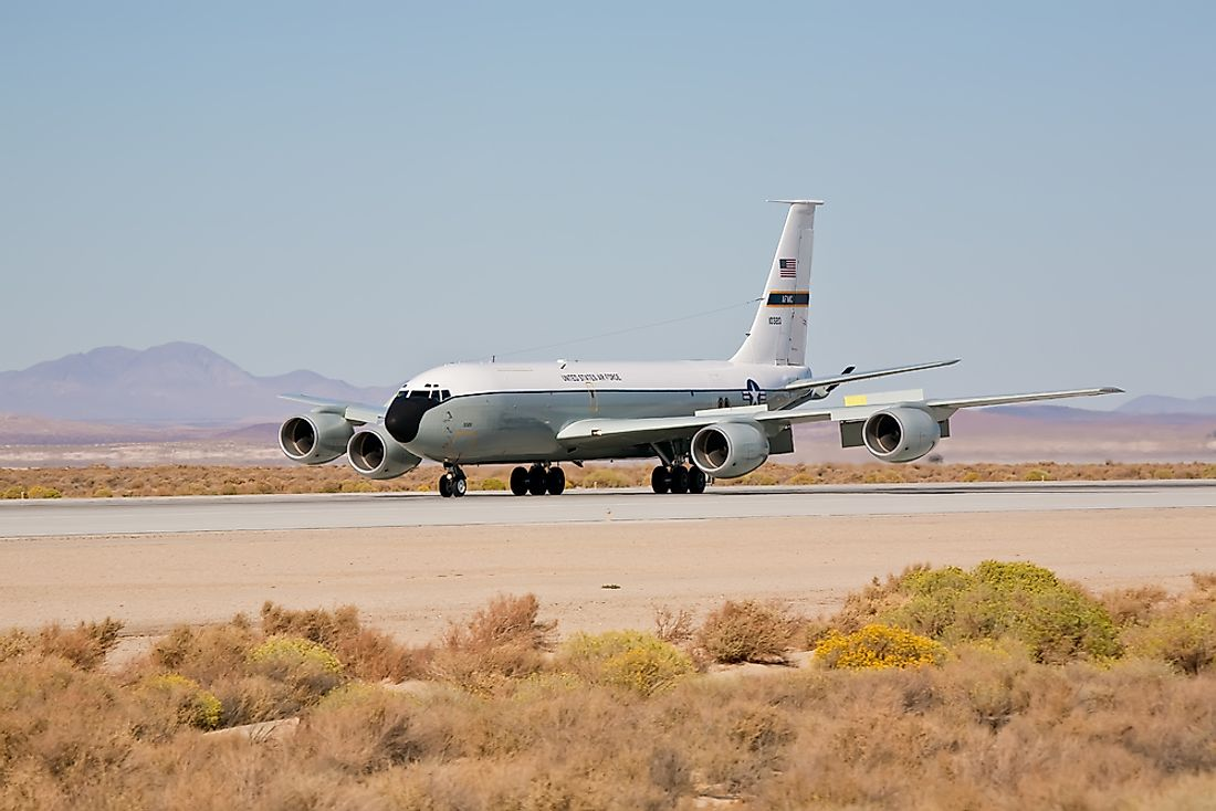 Edwards Air Force Base in California, US has several notable runways. Editorial credit: Eugene Berman / Shutterstock.com