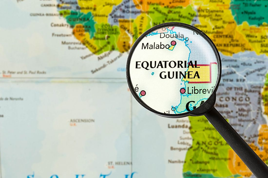 Equatorial Guinea, Africa's only Spanish-speaking country.