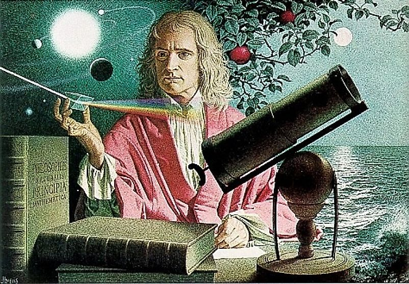 Visionary minds such as Isaac Newton prompted humanity to look at the natural world like never before.