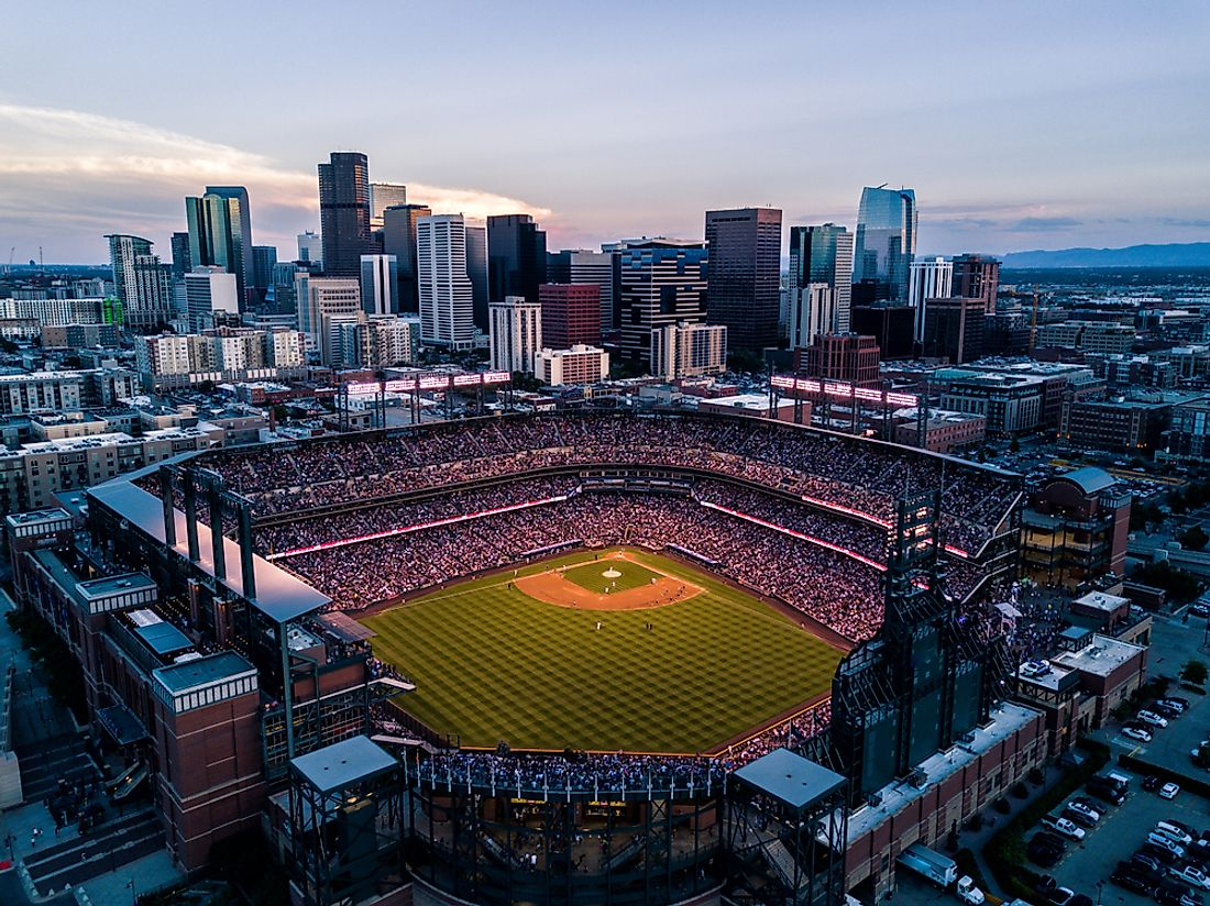 Denver is the smallest city to have all four sports teams.