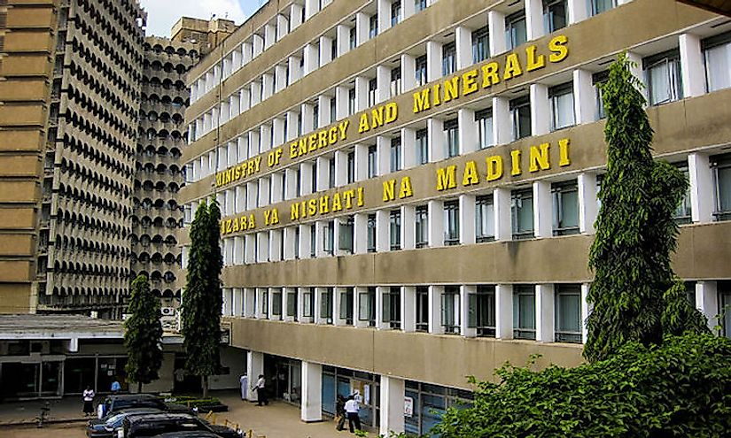 The Ministry of Energy and Minerals Building, Dar es Salaam, Tanzania