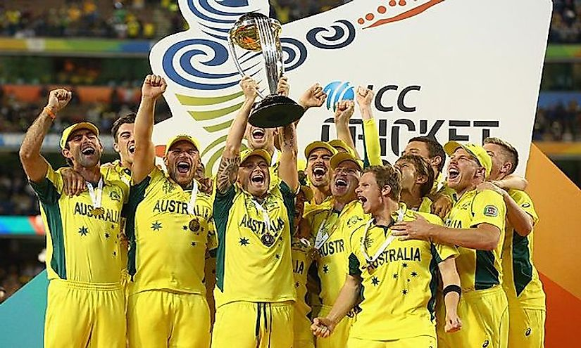 Australia beats New Zealand in ICC World Cup 2015 Final and becomes Champion 5th time in Cricket history.