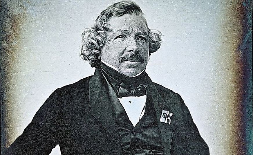 Frenchman Louis Daguerre was a photography pioneer in the first half of the 19th Century.