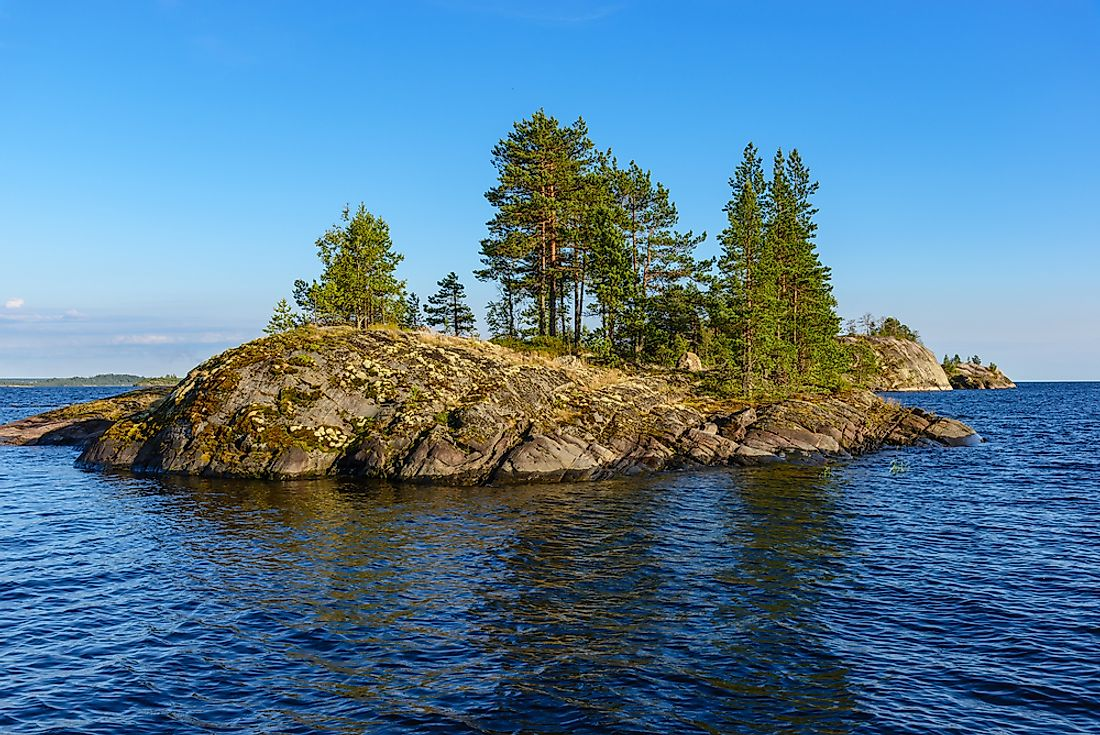 A skerry is another name for a small rock island.