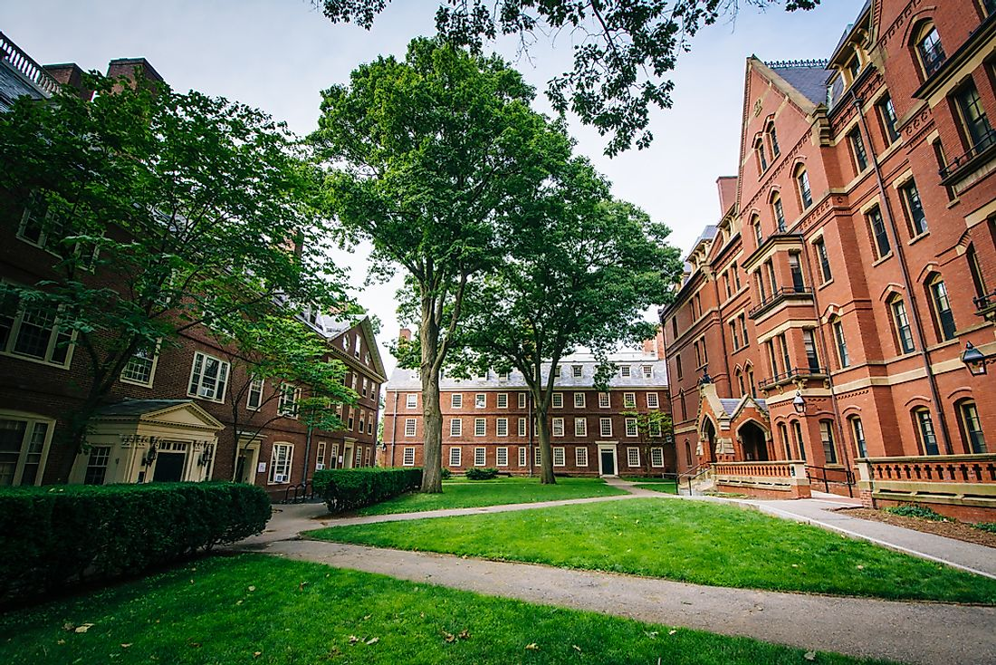 Harvard University in Cambridge, Massachusetts.