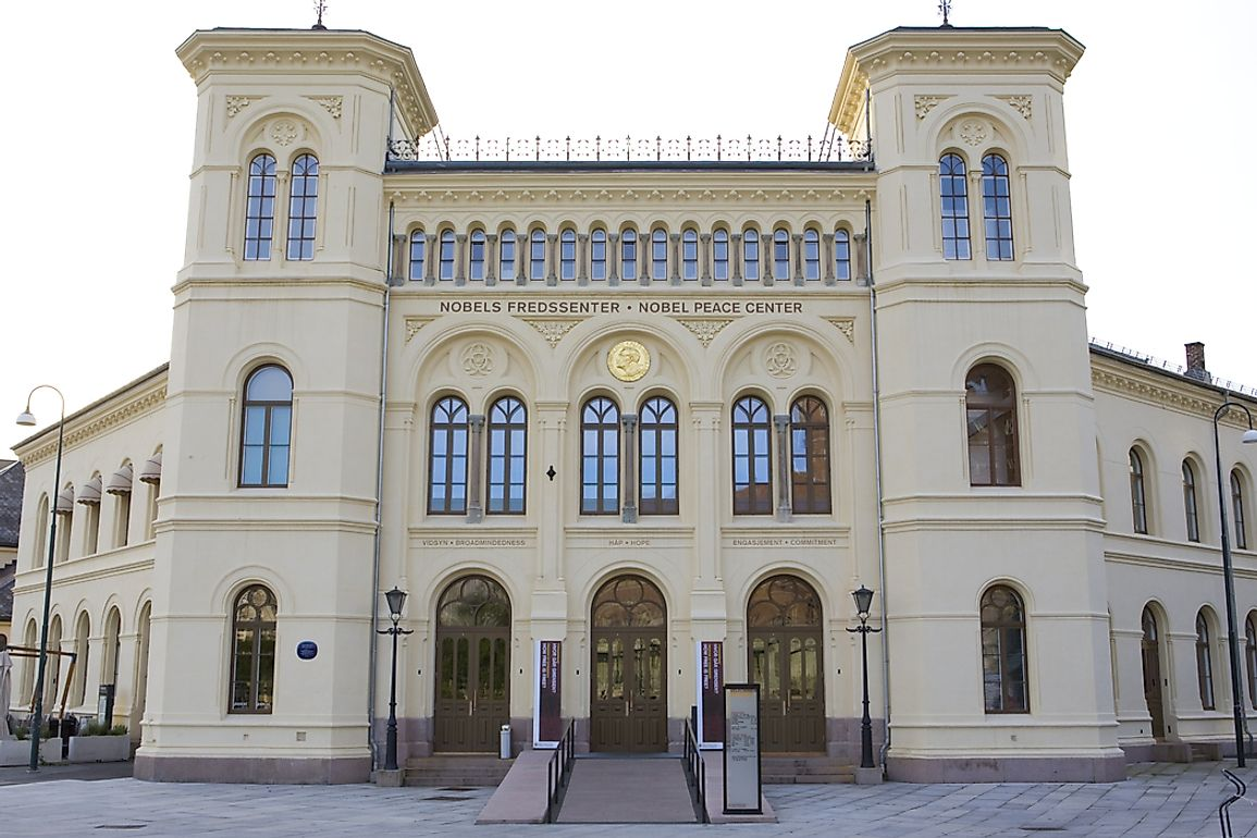 Nobel's legacy is remembered that the Nobel Peace Center in Oslo, Norway.