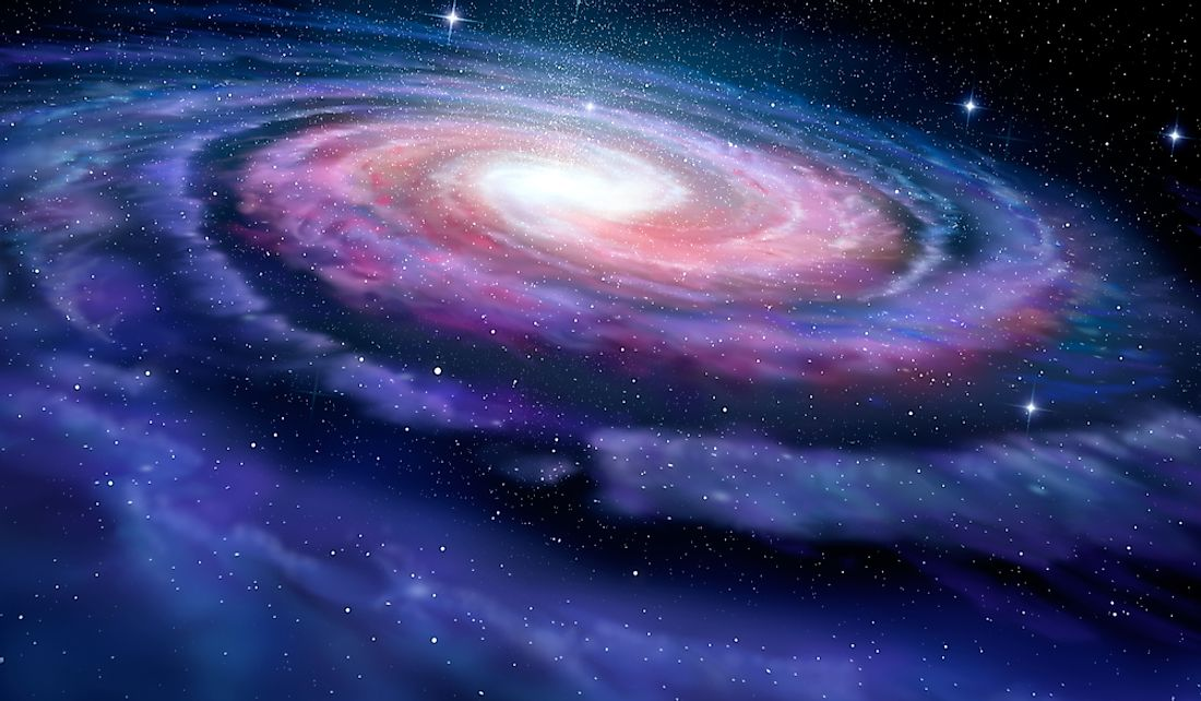 The Milky Way is a spiral galaxy.