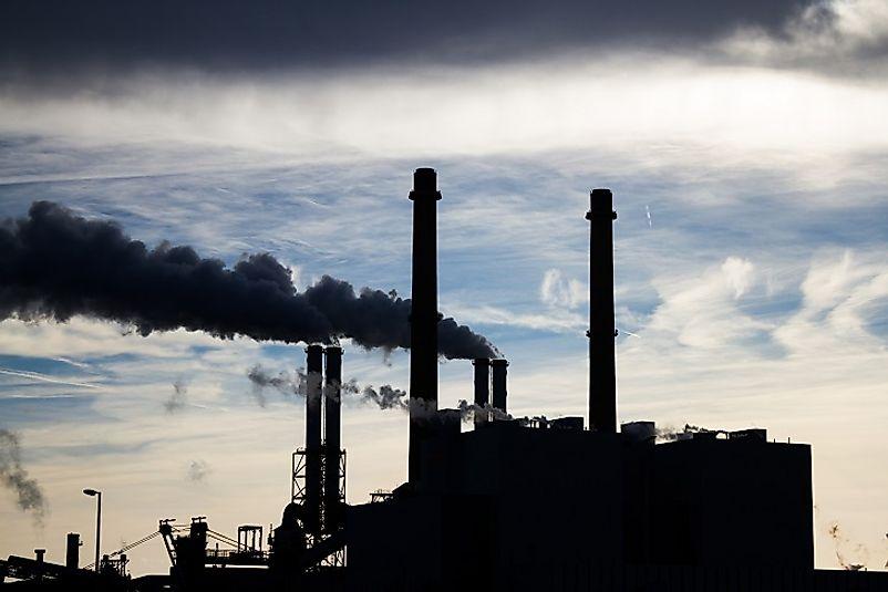 US Greenhouse Gas Emissions WorldAtlascom - Us greenhouse gas concentration maps