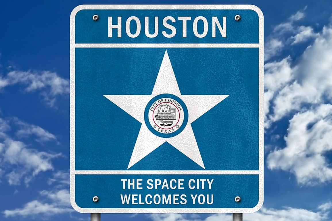 "Houston is officially nicknamed ""Space City"" because of NASA activities that it hosts."