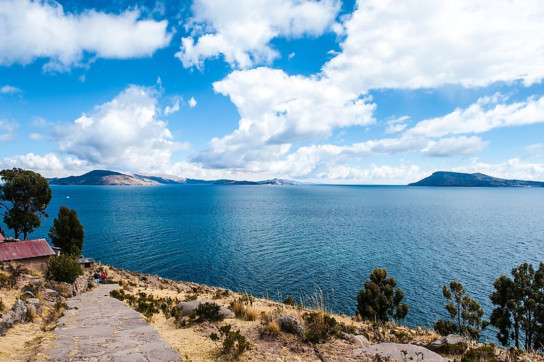 Lake Titicaca is home to 41 islands.