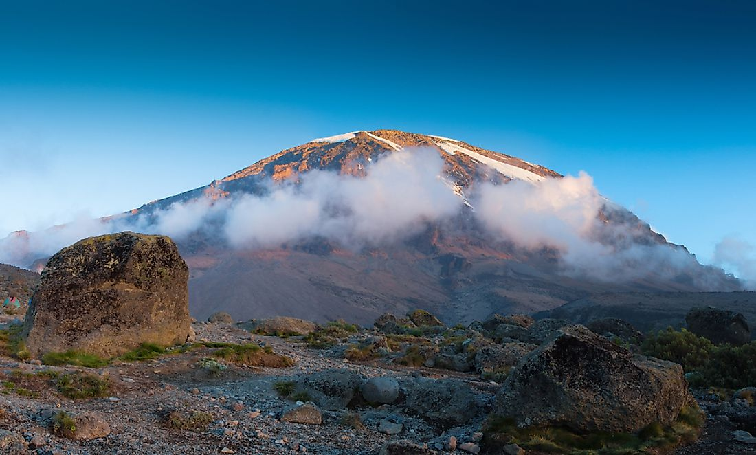 Mt. Kilimanjaro is both a mountain and a volcano.