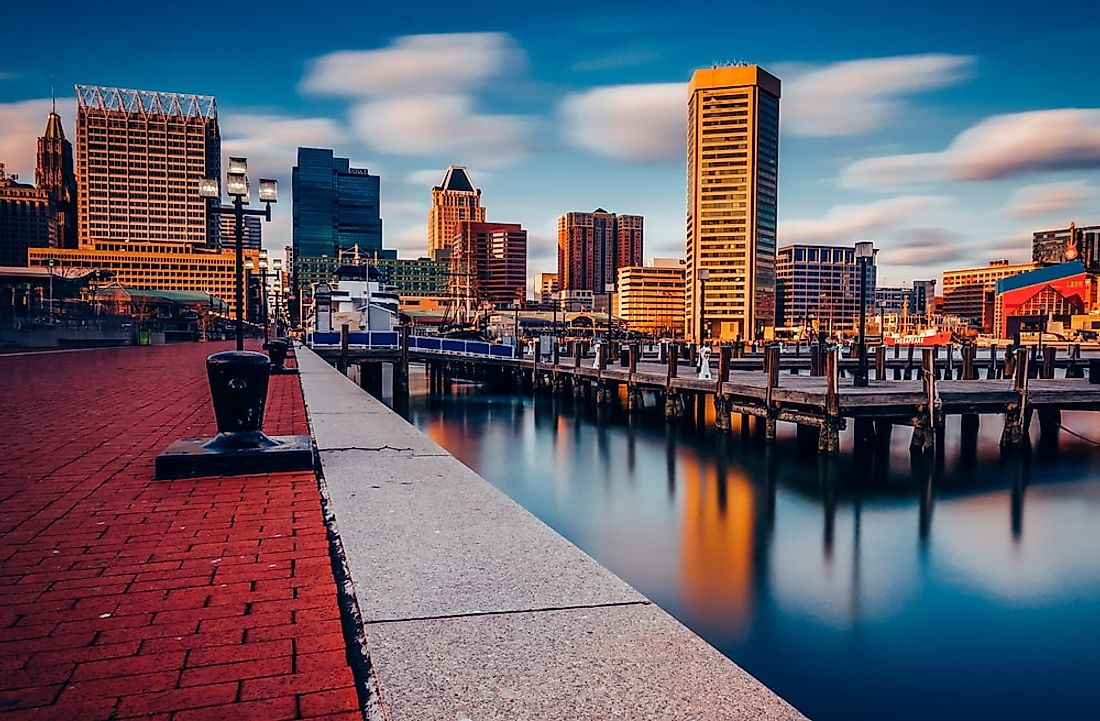 Baltimore commonly ranks highly on the list of most dangerous cities in the US.