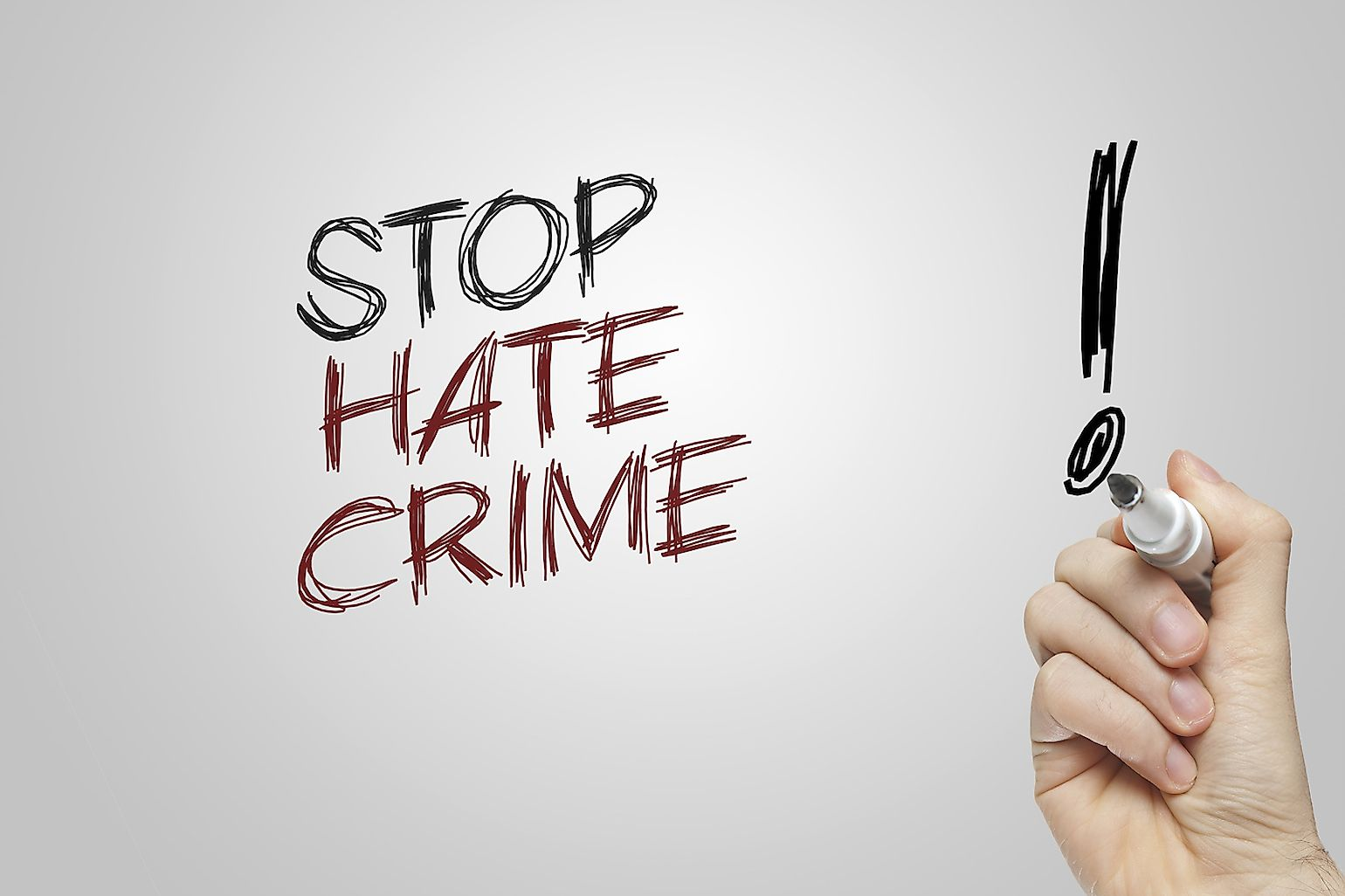 Hate crimes need to be dealt with strongly and prompt actions must be taken against perpetrators of such crimes.