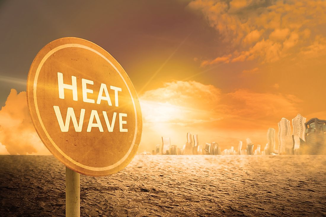 Heat waves can have very detrimental affects on health.