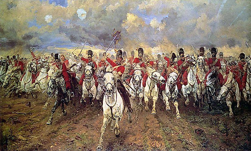 #1 Battle of Waterloo (June of 1815) -