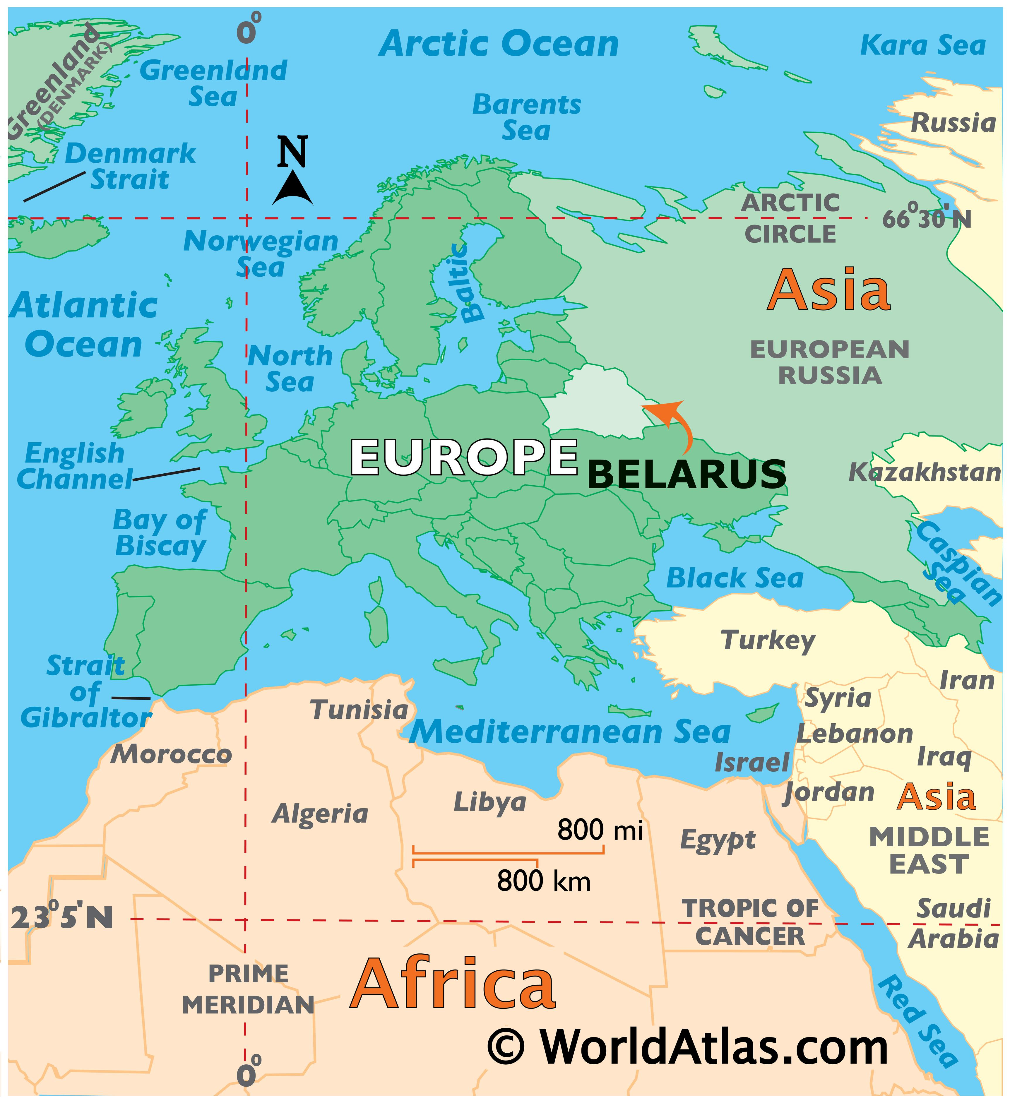 Picture of: Belarus Maps Facts World Atlas