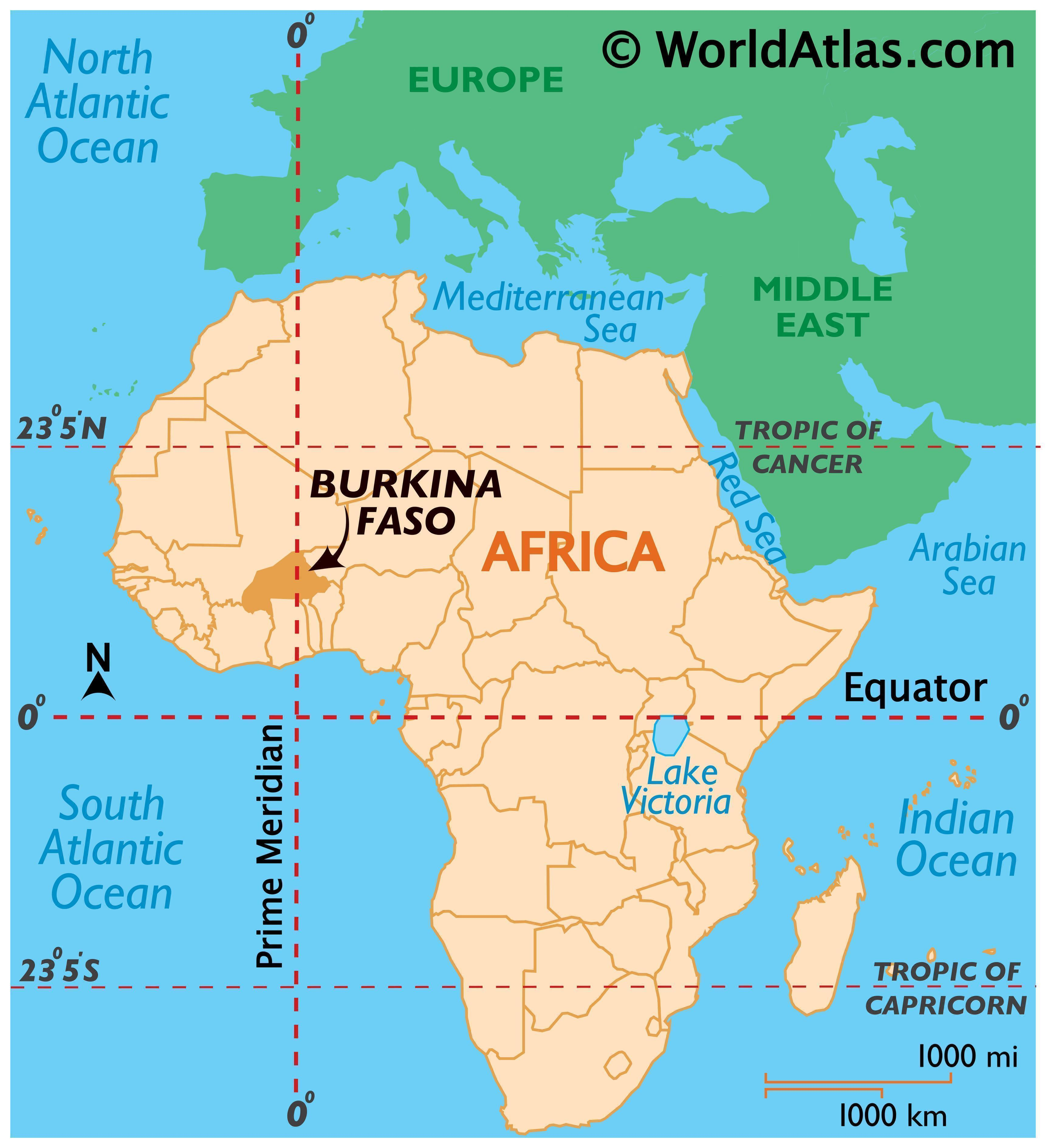 Where is Burkina Faso?