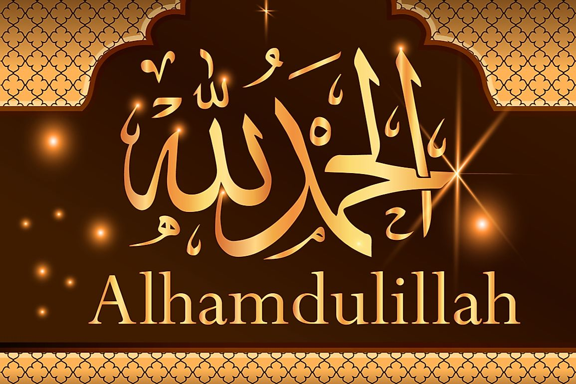 What is the Meaning of Alhamdulilah? - WorldAtlas com