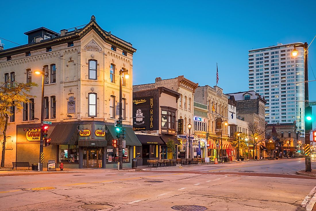 Milwaukee's nickname owes itself to the the light colored bricks found throughout the city. Photo credit: f11photo / Shutterstock.com.